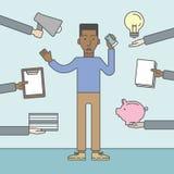 Arbeitsüberlastung Lizenzfreie Stockfotos
