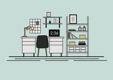 Arbeits-Ecke lizenzfreies stockbild