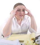 Arbeits-Frustration Lizenzfreie Stockfotos