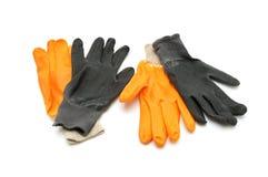 Arbeits-Handschuhe Lizenzfreies Stockbild
