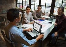 Arbeits-Job Career Casual Showing Stockfotos