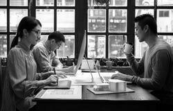 Arbeits-Job Career Casual Showing Lizenzfreie Stockfotos