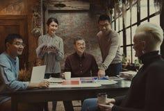 Arbeits-Job Career Casual Showing Concept Lizenzfreies Stockbild