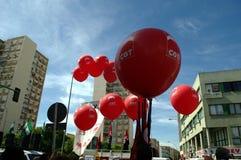 Arbeits-Tag protestiert 5 Lizenzfreie Stockbilder