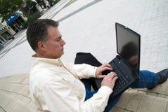 Arbeitsaußenseite ist besser Lizenzfreies Stockbild