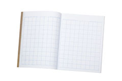 Arbeitsbuch für das Schreiben von chinesischen Schriftzeichen Stockfotografie