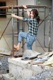 Arbeitsfrauen stockfotos
