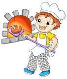 Arbeitskräfte 10, Bäckerei Lizenzfreies Stockbild