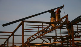 Arbeitskräfte Stockbild
