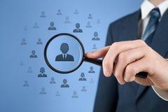 Arbeitskräftepotenzial und CRM Lizenzfreies Stockbild