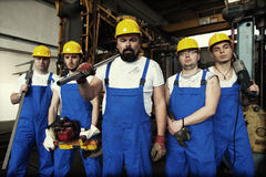 Arbeitskraft Lizenzfreie Stockfotos