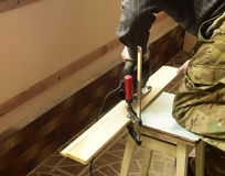 Arbeitskraft Stockfoto