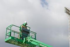 Arbeitskraft-Betriebsaufzug Stockfotografie