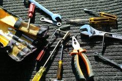 Arbeitskraft ` s Werkzeuge Stockbilder