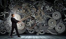 Arbeitsmechanismus Stockbilder