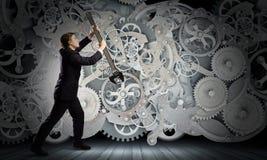 Arbeitsmechanismus Lizenzfreie Stockfotografie