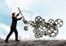 Arbeitsmechanismus Lizenzfreies Stockfoto
