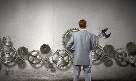 Arbeitsmechanismus Lizenzfreie Stockfotos