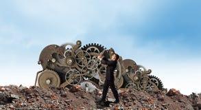 Arbeitsmechanismus Stockfoto