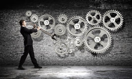 Arbeitsmechanismus Lizenzfreie Stockbilder