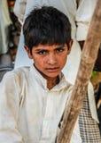 Arbeitsmensch von kleinen Kindern Pakistans Lizenzfreie Stockfotografie