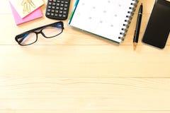 Arbeitsplatz-Bürogeschäft Lizenzfreies Stockfoto