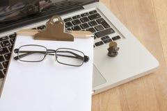 arbeitsplatz Kreativer Prozess Lizenzfreies Stockbild