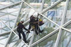 Arbeitsplatz-Sicherheit Stockfoto