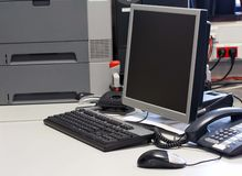 Arbeitspleace Lizenzfreie Stockfotos