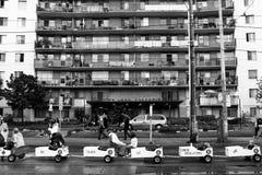 Arbeitstagesparade - Toronto stockbild