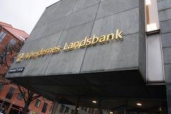 ARBEJDEERNES LANDSBANK. Copenhagen / Denmark_  07.February  2017 - Arbejdernes landsbank local branch in danish capital.     Photo. Francis Joseph Dean/ Royalty Free Stock Images
