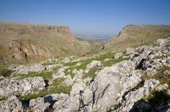 Arbel峭壁 免版税图库摄影