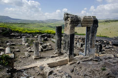 Arbel ancient synagogue Royalty Free Stock Image