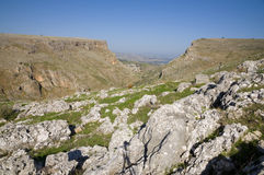 The Arbel Cliff Royalty Free Stock Photography