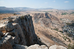 Arbel Cliffs Stock Photo
