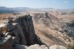 Arbel Cliffs Stock Photo
