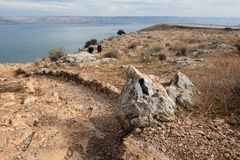 Arbel Nature Reserve And National Park. Israel Stock Photography
