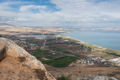 Arbel Nature Reserve And National Park. Israel Stock Photos