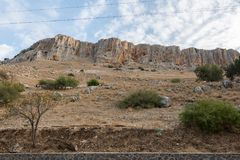 Arbel Nature Reserve And National Park. Israel Royalty Free Stock Photos