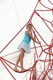 arber βαυαρικό αναρριμένος δασικό κορίτσι ελάχιστα Στοκ εικόνα με δικαίωμα ελεύθερης χρήσης