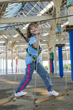 arber βαυαρικό αναρριμένος δασικό κορίτσι ελάχιστα Στοκ φωτογραφία με δικαίωμα ελεύθερης χρήσης