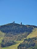 arber βαυαρικό δασικό μεγάλο βουνό της Γερμανίας Στοκ εικόνες με δικαίωμα ελεύθερης χρήσης