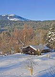 arber βαυαρικό δασικό μεγάλο βουνό Στοκ Φωτογραφίες