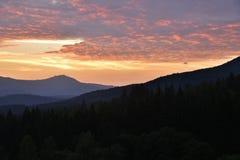 Arber sunset Stock Image