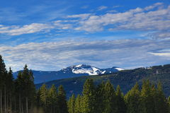 Arber, Winter landscape in the ski resort of Špičák,  Železná Ruda, Czech Republic. A Picture of the Winter landscape in the ski resort of Špičák, Žezn Stock Images