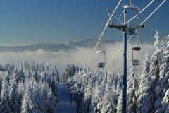 Arber, Winter Lanscape, Šumava Mountains, Eisenstein. A Picture of the winter Lanscape, Šumava Mountains Stock Photos