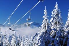 Arber, Winter Lanscape, Šumava Mountains, Eisenstein Royalty Free Stock Photo