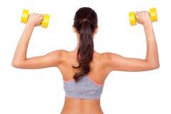 Arbeta den biceps Arkivfoton