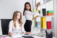 Arbeta för sekreterare arkivbild