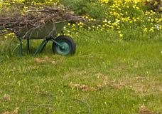 arbeta i trädgården Royaltyfria Bilder